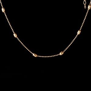 Jewelry - Gold Heart and Beads Layered Choker Necklaces